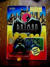 ERTL BATMAN 1993 Diecast Figure MINT  in UNOPENED PACKAGE with Collector Sticker