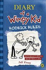 Diary of a Wimpy Kid Rodrick Rules (book 2) Jeff Kinney 0141324910