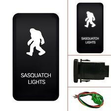 MICTUNING Push Switch White Sasquatch LED Light For Toyota FJ Cruiser 2007-2014