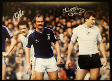 New Leighton James And Alan Curtis Duel Signed Swansea 12x16 Photograph