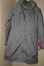 THE NORTH FACE LAUREN TRENCH JACKET BROWN MEDIUM $399.99