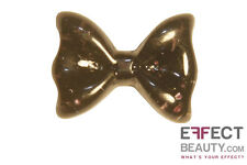Glitter Resin Bows 3d Nail Art Manicure 10 Colours UK Seller Free Postage