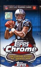 2011 Topps Chrome Football Hobby Box - 1 Autographed Rookie in EVERY Hobby Box