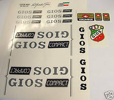 Gios Compact decals for Campagnolo vintage bike resto