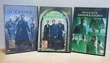 Keanu Reeves - Matrix - Matrix Reloaded - Matrix Revolutions Trilogia  Dvd