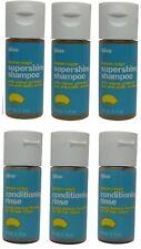 Bliss Lemon & Sage Shampoo & Conditioner lot of 6 (3 of each) 1oz Bottles