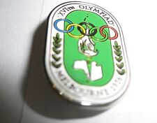 1956 OLYMPIC GAMES MELBOURNE AUSTRALIA Official Olympic Logo Pin reproduction..