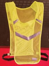 BCG Lightweight Mesh Reflective Running Vest Adjustable Straps Bright Yellow S/M