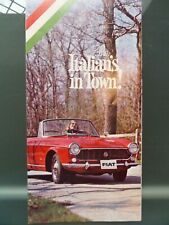 Fiat 1500 Spider 850 Coupe 1100-R Wagon Italians In Town 1966