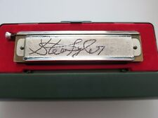 Steven Tyler signed harmonica coa + exact proof! Aerosmith autographed Hohner