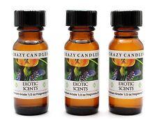 3 Exotic Scents L (Cashmere Woods Type) 1/2oz Premium Grade Fragrance Oil