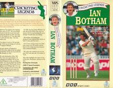 CRICKET IAN  BOTHAM   VHS VIDEO PAL A RARE FIND