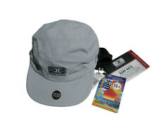 OCEAN & EARTH SURF CAP, Quick Dry, Lightweight, Chin Strap, One Size, Grey, NEW