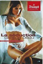 Original vintage poster SEXY LINGERIE TRIUMPH SEDUCTION (2)