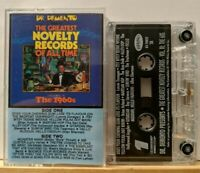 Dr. Demento : The Greatest Novelty Records - The 1960's (Cassette, 1985, Rhino)