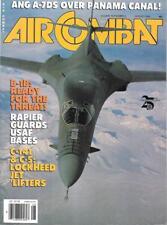 Air Combat Aug.1988 ANG A-7D Panama Canal B-1B Lockheed C-141 Starlifter C-5
