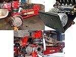 """B TOW-F F&R SINGLE WHEEL 3.5"""" axl 2005-2011 FORD F250/F350 PICKUP 4WD"""