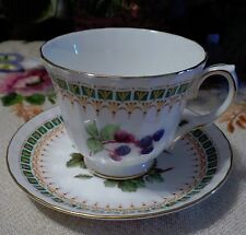 Vintage Duchess Tea Cup and Saucer Set, Fine Bone China Made In England