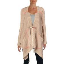 Free People Womens Brown Printed Cardigan Sweater Top Juniors BHFO 2970
