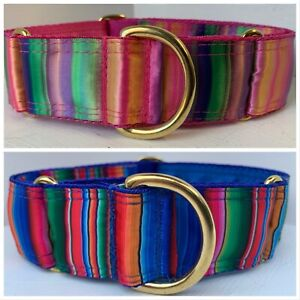 Boomerjacks Mexican Stripe Martingale Collar/Greyhound/Whippet/Many Breeds