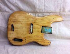 Vintage 1954 Fender Precision Bass Guitar Body for Restoration Original 1950's