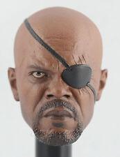 Hot Toys 1/6 Scale MMS169 Nick Fury Avengers Samuel Jackson - Head Sculpt