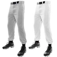 Champro MVP Classic Youth Boys Baseball Pant - Grey & White BP4Y