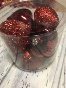 """Valentine's Day Heart Ornaments 3"""" 8 Pc Darice New ❤️"""