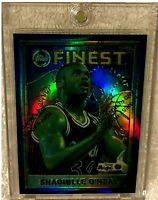 SHAQUILLE O'NEAL 1995 TOPPS FINEST REFRACTOR WITH COATING #32 VERY RARE MAGIC