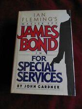 John Gardner - FOR SPECIAL SERVICES -  (James Bond) - hardcover