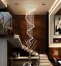 Crystal Rain Drop Chandeliers Pendant Ceiling Fixtures Home Lighting Lamp Decor