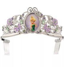 New Disney Store Tinker Bell Fairy Tiara Costume Crown Girls  Headband Fairies