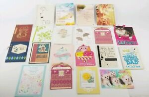(Lot of 22) Hallmark Cards Happy Birthday & Others Disney Peanuts Looney Tunes