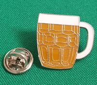 Real Ale Beer Tankard Enamel & Metal Lapel Pin Badge 20mm Gift Free UK Postage