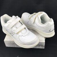 New Balance Walking Shoes Womens Size 9 White Leather - WW577VW