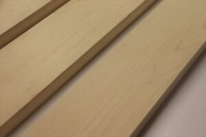 Maple 1pc neck blanks for Guitar - 750mm x 28mm - various widths available