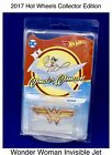 Hot Wheels DC Wonder Woman Invisible Jet Exclusive Collector Edition 2017 Movie