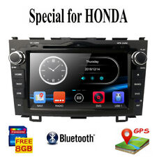 Fit Honda CRV 2007-2011 8'' Car Stereo Radio GPS Navi BT DVD Player DAB+