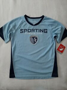 Kansas City Sporting MLS Soccer Jersey, Youth XL (16/18), Brand New!