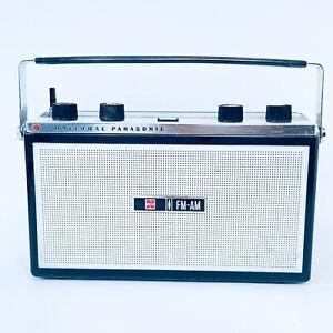 National Panasonic Retro Radio RF-1006LD Vintage Radio 10 Transistor 6 Diode