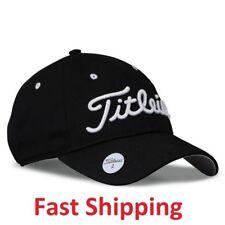 Golf Titleist Performance Black Hats Cap Magnetic Premium Ball Marker Free  Ship f5f87485d797