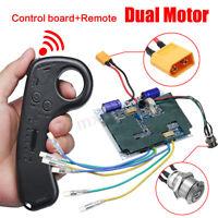 10S Hub Motor Dual Motor Electric Skateboard Remote Controller + Control