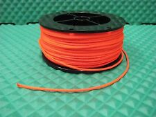 Berts Custom Tackle Planer Board Mast Line Neon Orange 200 ft 200 lb test mf3152