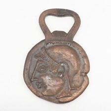 Vintage Brass Bottle Opener Greece Roman Owl Greek