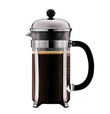 Bodum CHAMBORD Coffee maker, 8 cup, 34 oz Chrome + Free Bag 12oz Coffee