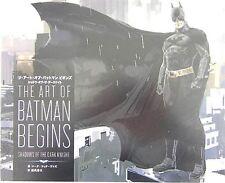 The Art of BATMAN Begins Shadows of the Dark Knight Film Making Book
