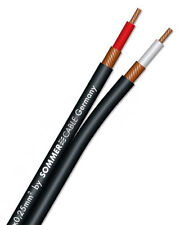 1 00m Sommercable Onyx schwarz / Stereo-cinchkabel Zum Top-