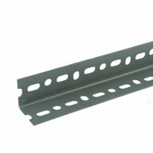 """PACK OF 5 Slotted Trade Angle 10 foot ft 3 Meter Steel Construction 40mm 1 1/2"""""""