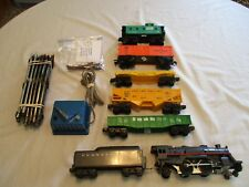 LIONEL FREIGHT TRAIN SET. COMPLETE & READY TO RUN . LOCO SMOKE & HEADLIGHT. EXCE