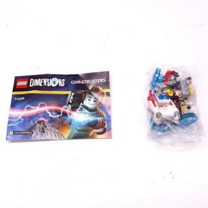 Lego Dimensions Ghostbuster Level Pack 71228 Peter + Car + Trap Complete R6300